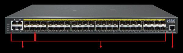 GS-5220-44S4C_Front-Panel-Introduction_L