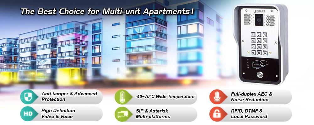 HDP-5260PT - IP Intercoms - PLANET Technology