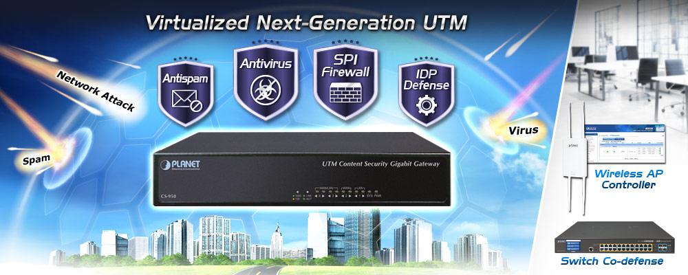 CS-950 - Wireless AP Controller - PLANET Technology
