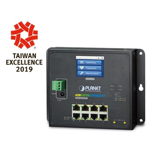 WGS-5225-8T2SV - L2+ Ring Managed Gigabit Ethernet Switch