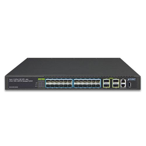 24 PORT 10G SFP+ + 4-Port 100G L3  Managed Switch